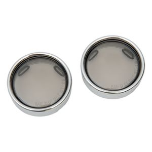Drag Specialties Deep Dish Deuce Turn Signal Lenses For Harley 2000-2018