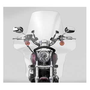 National Cycle Plexifairing 3 Windshield For Harley Dyna / Sportster 1957-2019 Clear [Previously Installed]