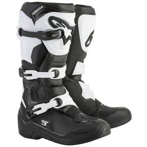 Alpinestars Tech 3 Boots Black/White / 12 [Demo - Good]