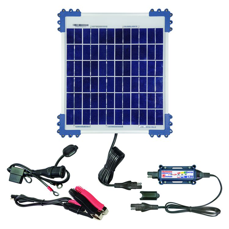 TecMate Optimate 10W Solar Charger