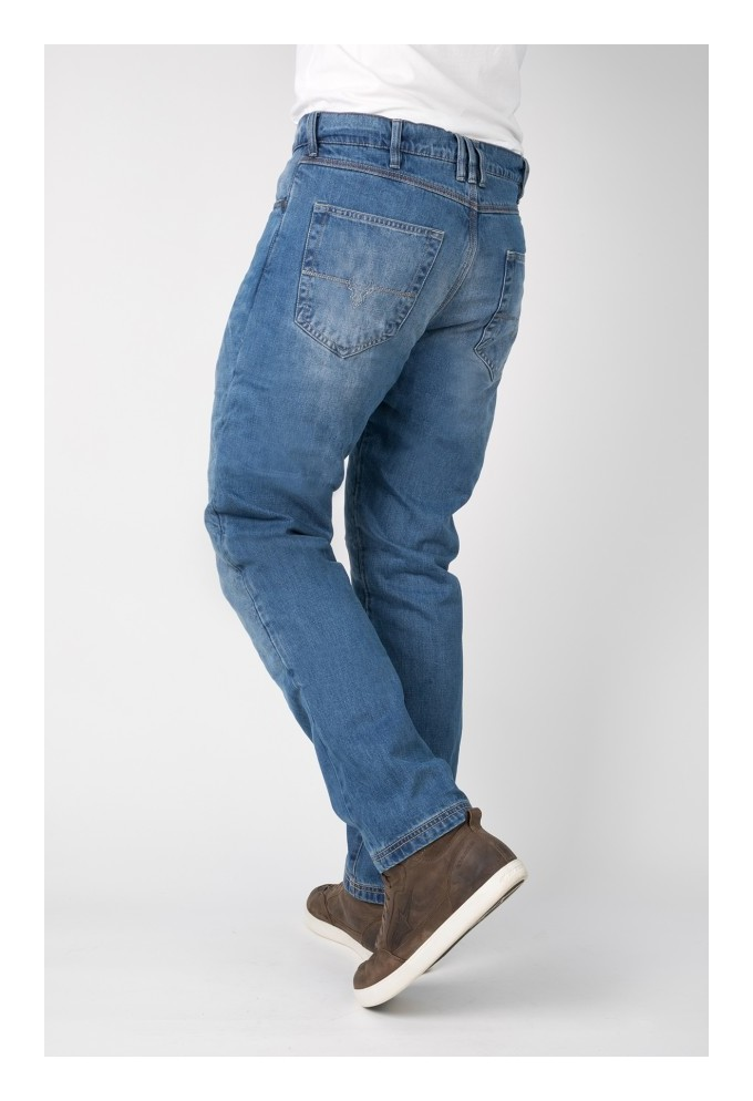 Short Motorcycle Jeans Bull-It Blue Vintage Easy SP120 SR6