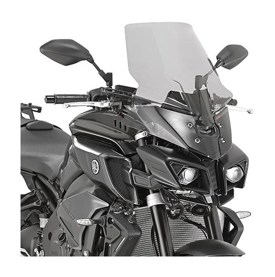 Blue Lorababer Motorcycle Sports Windshield Wind Deflector Windscreen Visor Viser for Yamaha MT10 FZ10 MT 10 FZ 10 MT-10 FZ-10 2016 2017 2018 2019