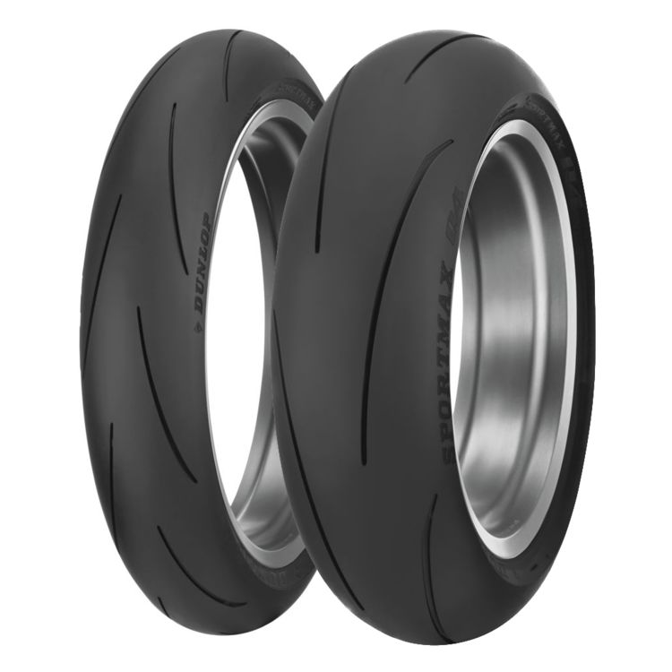 Dunlop Q4 Sportmax Tires 30 60 19 Off Revzilla