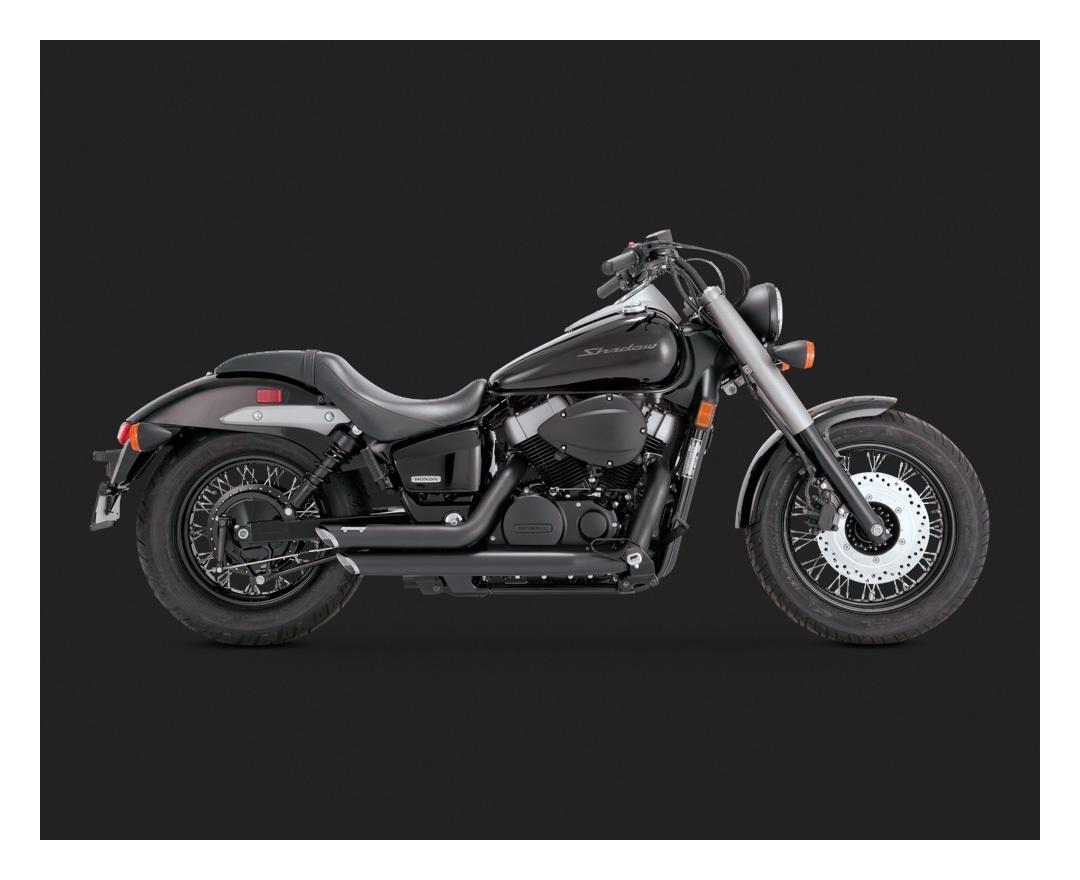 2015 Honda Shadow >> Vance Hines Shortshots Staggered Exhaust Honda Shadow 750 2004 2018