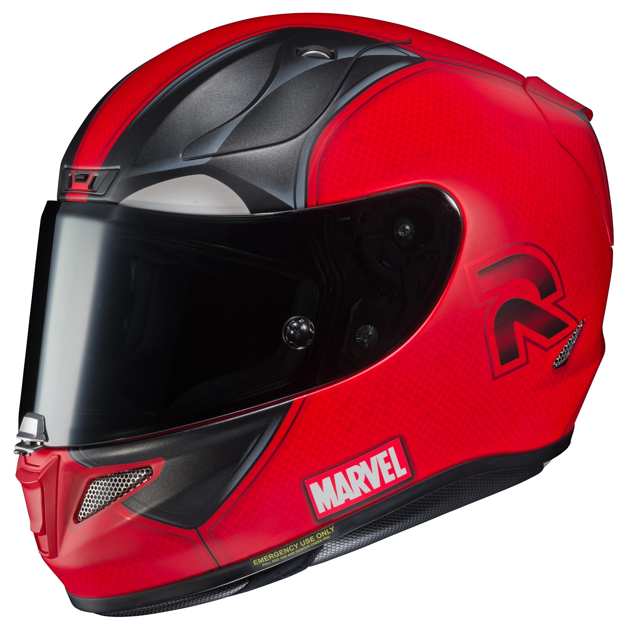 132e4d43 HJC RPHA 11 Pro Deadpool 2 Helmet | 10% ($60.00) Off! - RevZilla