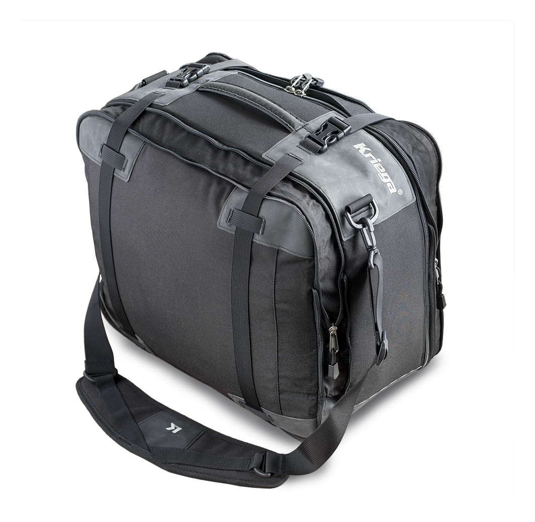 Gorei Motorcycle Storage Bag Leather Tool Bag Pouch for Saddle Bag Sissy Bars Fork Handlebars or Windshield Waterproof Side Case