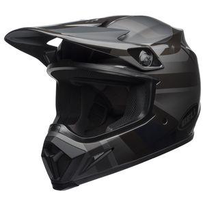 Bell MX-9 MIPS Marauder Helmet Black/Matte Black