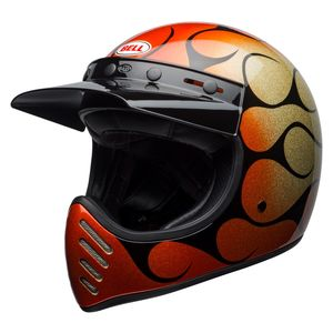 Bell Moto-3 Chemical Candy Flames Helmet