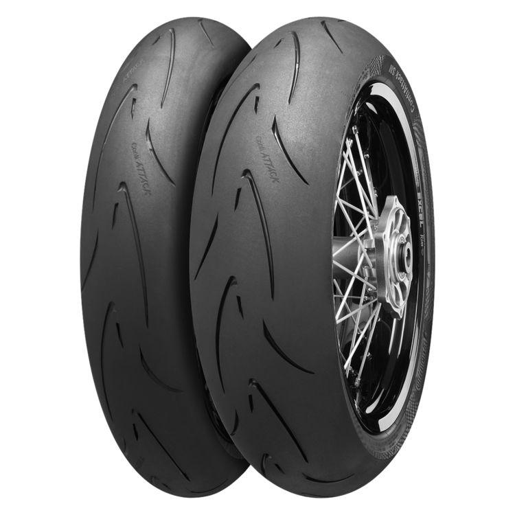 Continental ContiAttack SM Supermoto Tires