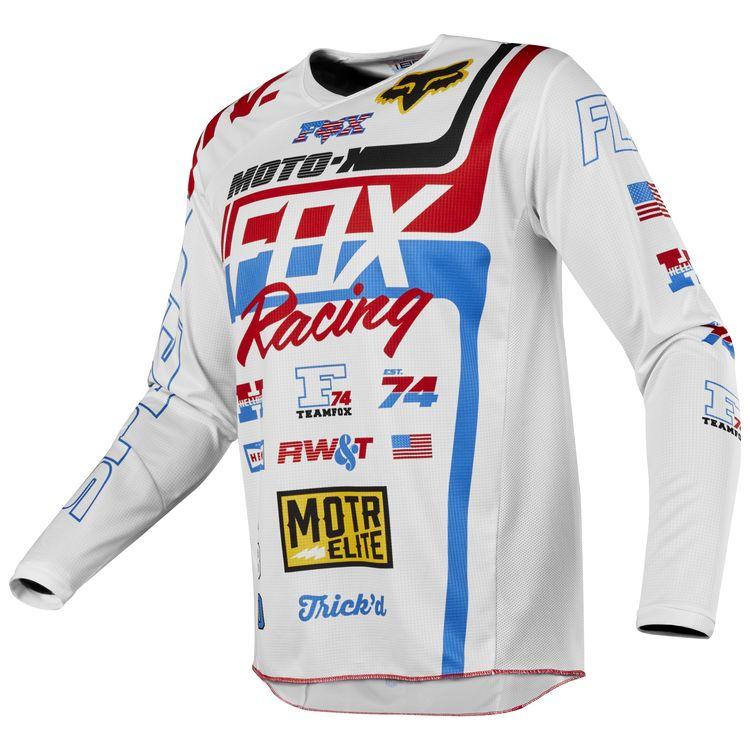 Fox Racing 180 RWT SE Jersey - RevZilla e4c955a3e