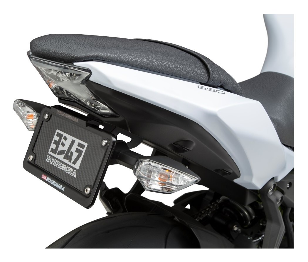 Fit for OEM License Plate Light Black Fit For OEM//Stock Turn Signal Xitomer Fender Eliminator Fit for KAWASAKI Ninja650 2017 2018 2019 2020 Tail Tidy