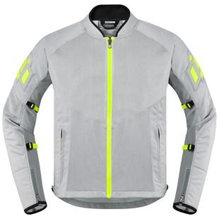 Icon Mesh AF CE Jacket (Color: Grey / Size: LG)