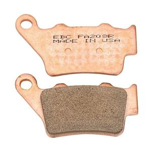 EBC R Series Sintered Rear Brake Pads Yamaha YZ80 / YZ85 / YZ125 1989-2016