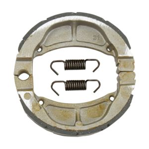 EBC Grooved Rear Brake Shoes