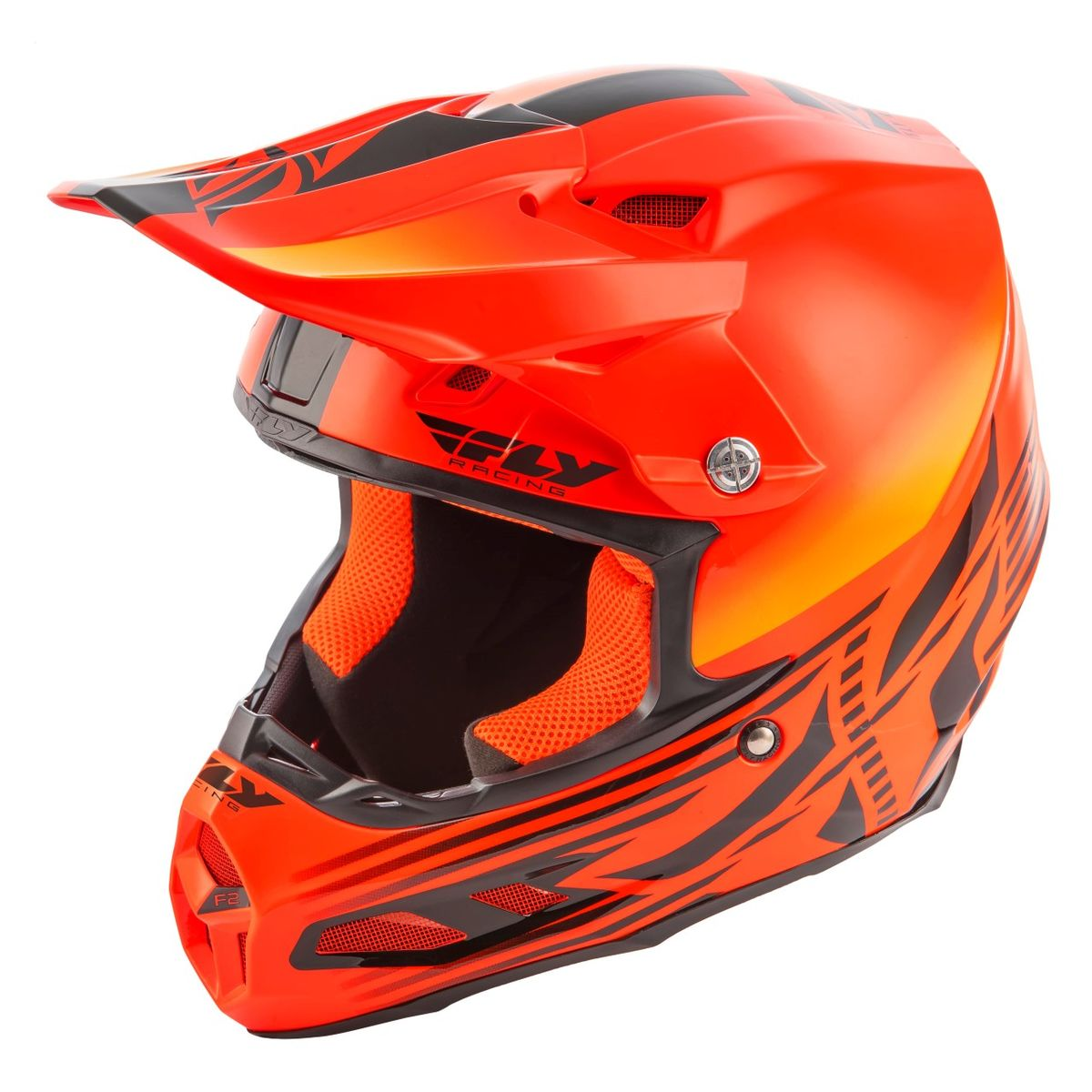 Fly Racing F2 CARBON MIPS Shield White//Red Offroad Motorcycle Helmet
