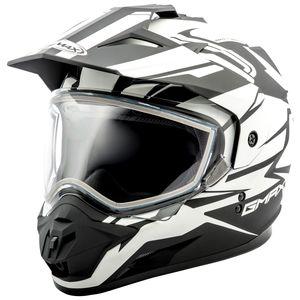 GMax GM11S Snow Vertical Helmet - Dual Lens (XS)