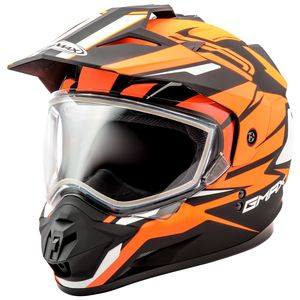 GMax GM11S Snow Vertical Helmet - Dual Lens