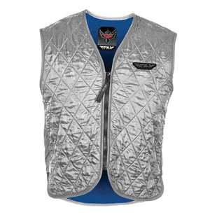 Fly Racing Street Cooling Vest (Color: Silver / Size: MD)