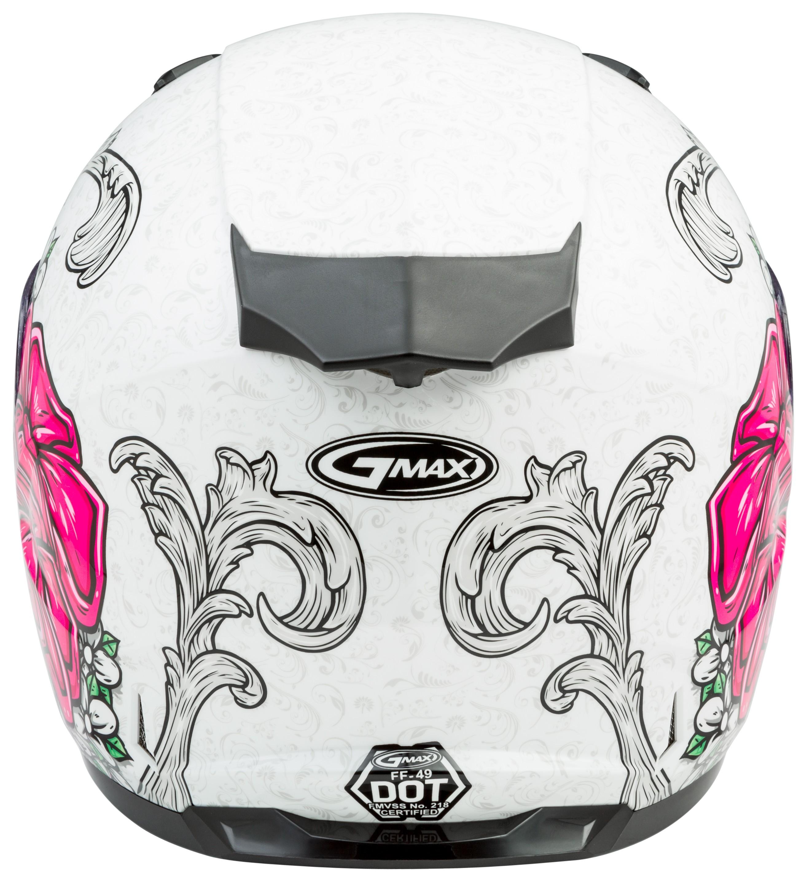GMAX FF-49 YARROW Full-Face Street Motorcycle Helmet Medium Matte Black//Gold