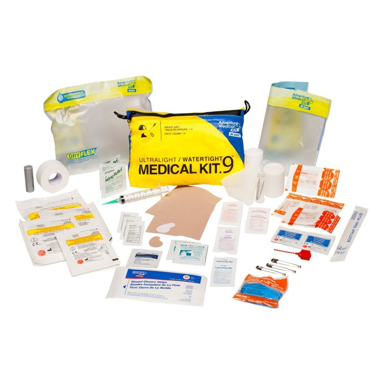 AMK Ultralight And Watertight .9 Emergency Medical Kit