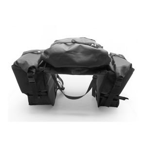 AltRider Hemisphere Soft Panniers Black / Right Side Exhaust [Demo - Good]