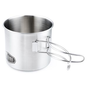GSI Outdoors Glacier Stainless Bottle Cup / Pot