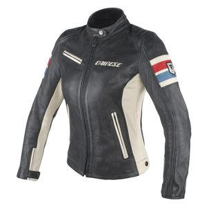 Dainese Lola D1 Women's Perforated Leather Jacket (42)