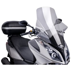 Puig V-Tech Touring Windscreen Kymco Downtown 300i 2009-2015 Clear [Blemished - Very Good]