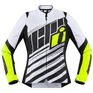 Icon Overlord SB2 Women's Jacket Hi-Viz / LG [Demo - Good]