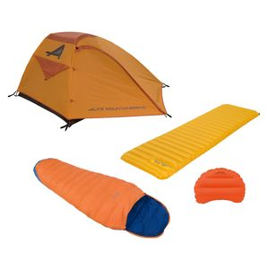 Minimalist Camping Kit: Tent / Sleeping Bag / Pad / Pillow