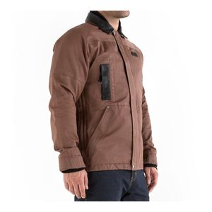 Knox Leonard Wax Jacket Brown / 2XL [Demo - Good]