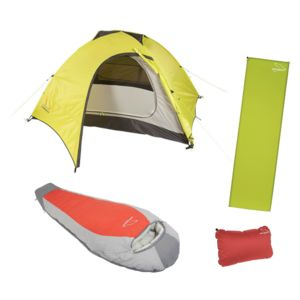 Happy Medium Camping Kit: Tent / Sleeping Bag / Pad / Pillow