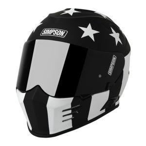 Simpson Ghost Bandit Monochrome Helmet