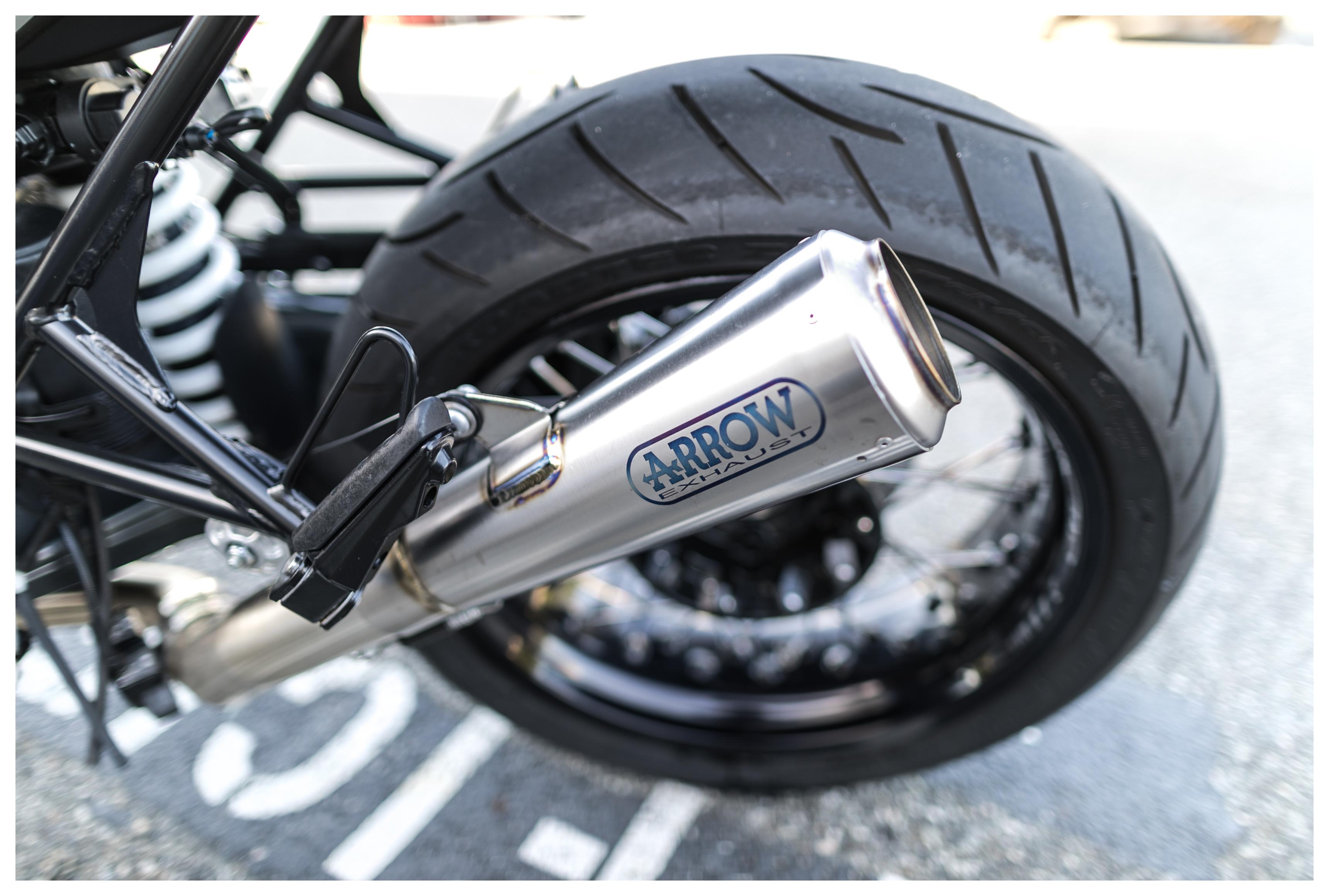 Arrow Pro Race Slip On Exhaust Bmw R Ninet R9t 2014 2019