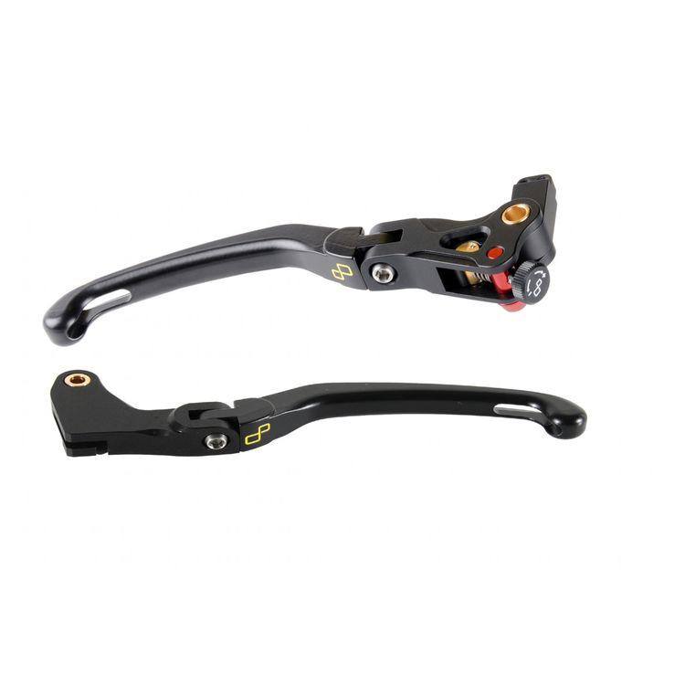 LighTech Magnesium Folding Brake & Clutch Lever Kit Kawasaki Ninja 300 / 400 2013-2018-2019