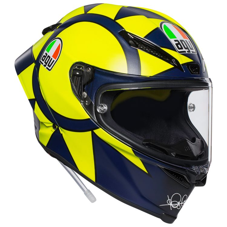 agv pista gp r carbon rossi soleluna 2018 helmet revzilla. Black Bedroom Furniture Sets. Home Design Ideas