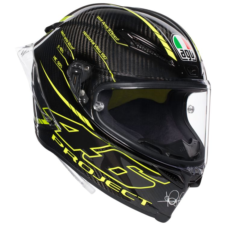 agv pista gp r carbon project 46 3 0 helmet revzilla. Black Bedroom Furniture Sets. Home Design Ideas