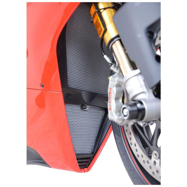 R&G Racing Radiator / Oil Cooler Guard Set Ducati Panigale V4 / V4S 2018-2019