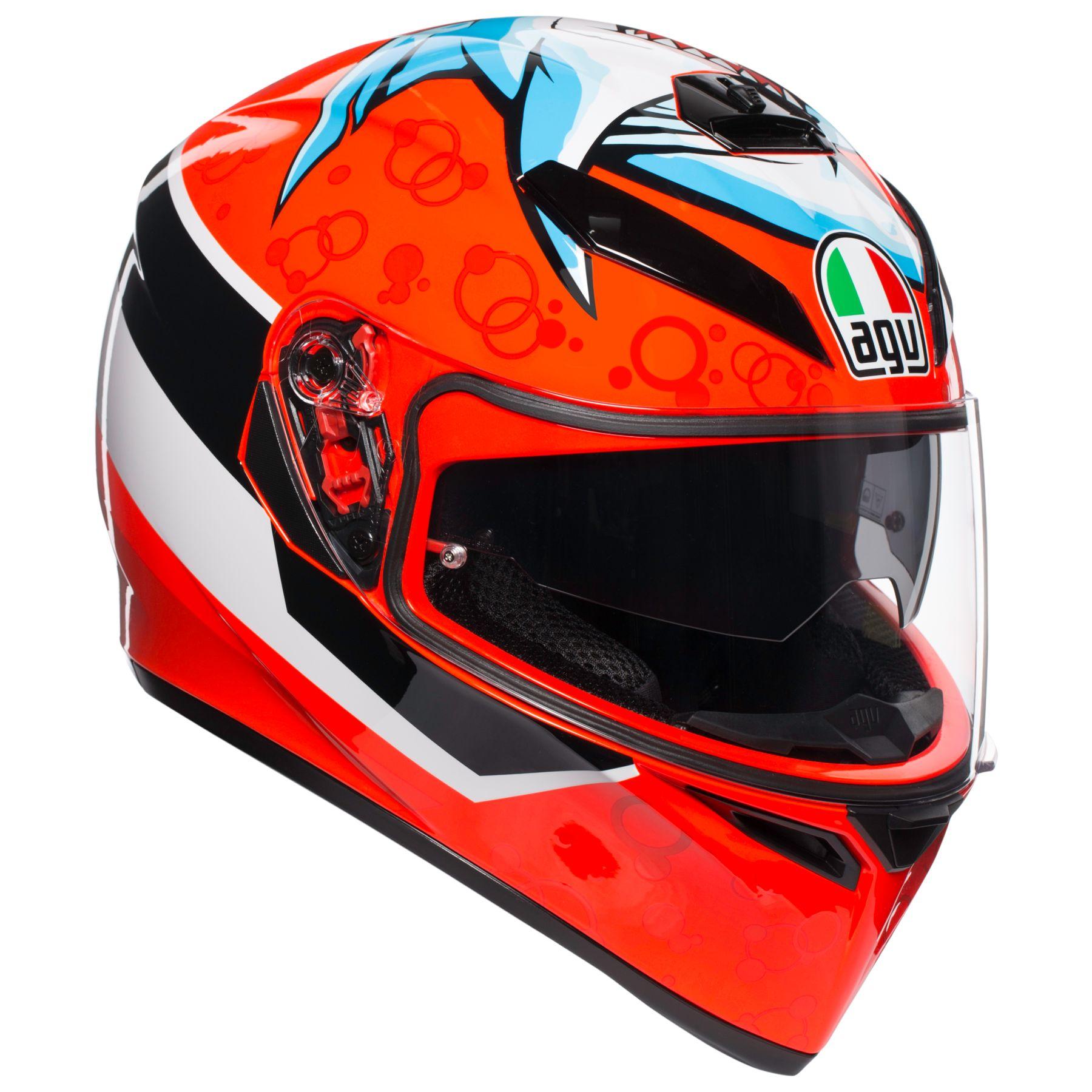 AGV K-3 Motorcycle Helmet Cheek Pads XS X-Small