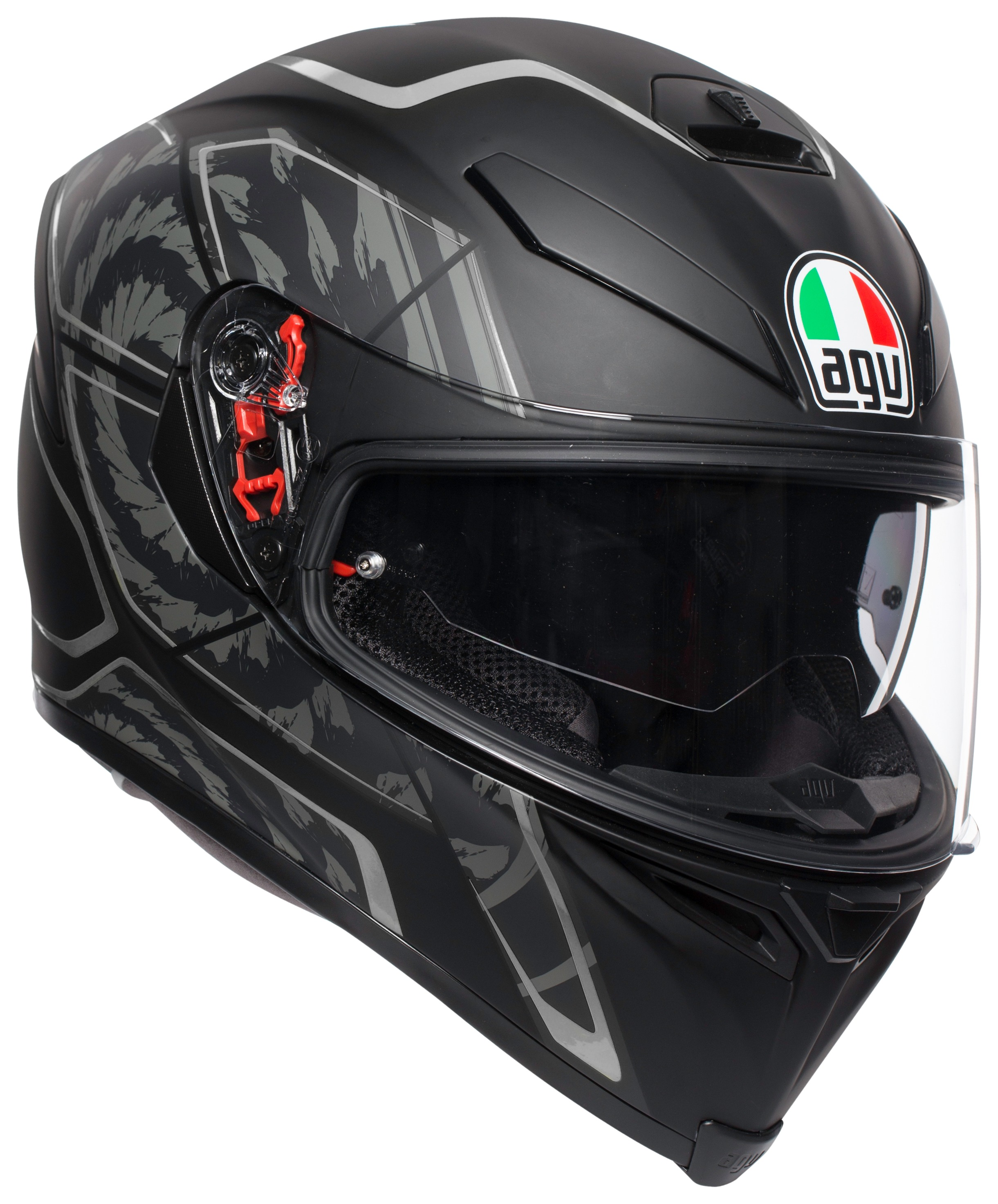 Silver//Large Snow Master Helmets TX-50-Silver Snow Master TX-50 Silver Modular Dual Use Snowmobile and Street Helmet