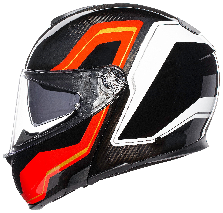 Agv Sportmodular Carbon Sharp Helmet 33 279 96 Off Revzilla