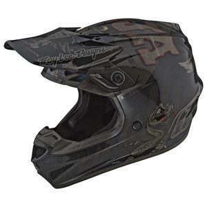 Troy Lee SE4 Polyacrylite Baja Helmet (2XL)