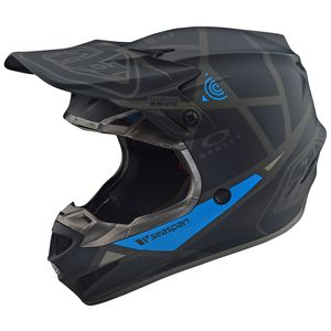 Troy Lee SE4 Polyacrylite Metric Helmet