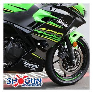 Kawasaki 2011-2017 Ninja 1000 Shogun Racing Frame Sliders No Cut Version Black