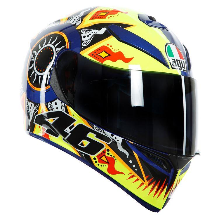 07cb10f5 AGV K3 SV Rossi 2002 Helmet - RevZilla
