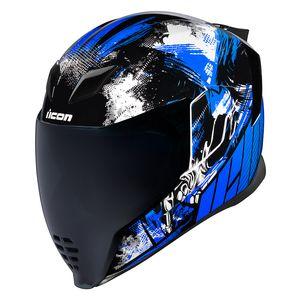 NEW Icon Airflite Shield Replacement Face Helmet Visor Airflite Helmet Fog Free