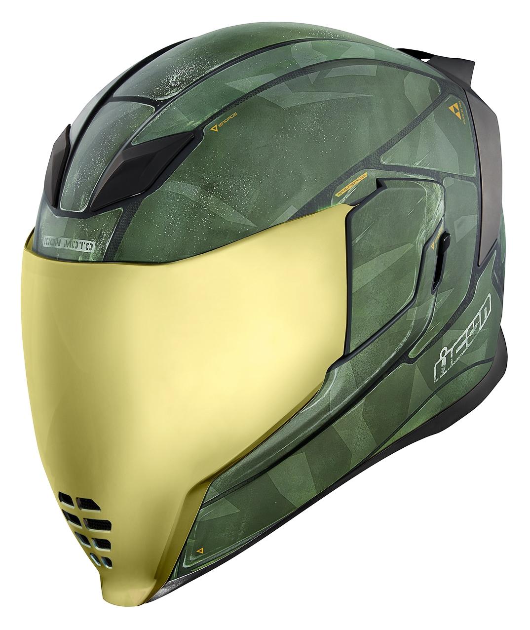 Icon Airflite Battlescar 2 Helmet Revzilla