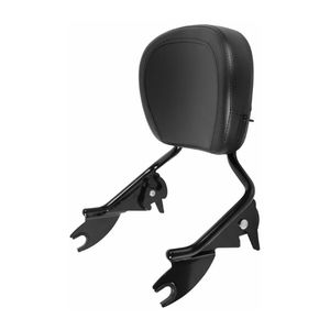 HogWorkz Detachable Sissy Bar And Backrest For Harley Touring 2009-2021