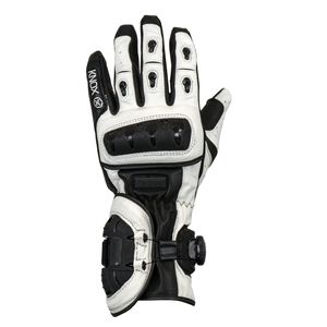 Knox Nexos MKI Sport Gloves Black/White / MD [Demo - Good]