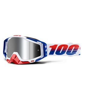 100% LE MXDN Racecraft Plus Goggles - Mirrored Lens